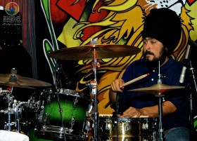 Christian  Molina of Midnite Performing at the Provolt Community Center on 4/19/12
