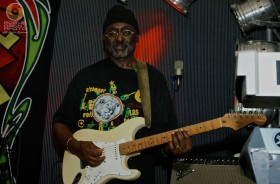 Edwin Byron of Midnite Performing at the Provolt Community Center on 4/19/12