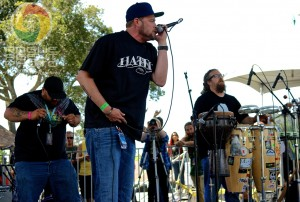 Fortunate Youth performing at the 2013 Cali Roots Festival
