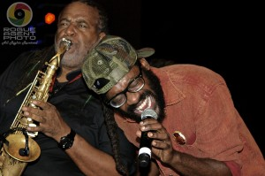 Tarrus Riley Headlining with Dean Frazer on Sax on Friday Night at Reggae On The River 2013