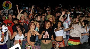 The Dancehall Massive Doing It Up Right Friday Late Night at Reggae On The River 2013