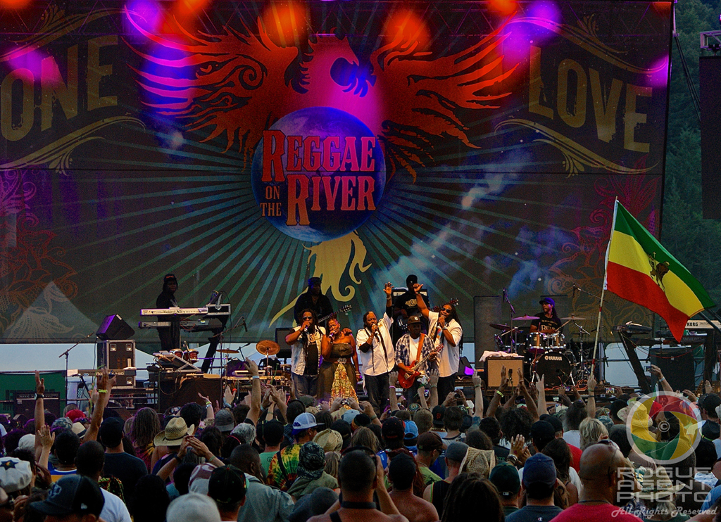 Morgan Heritage Closing Out Sunday Night at Reggae On The River 2013