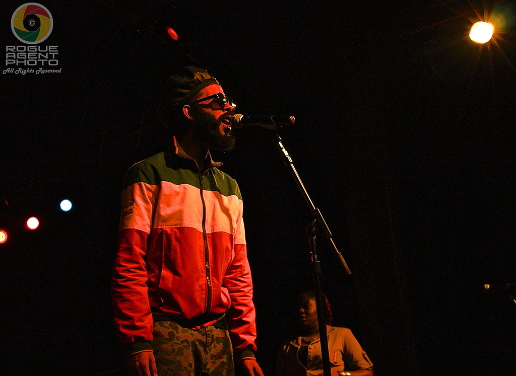 Protoje filled the house with BIG VIBES in Ashland, Oregon, on 2/22/14