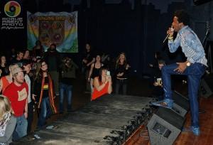 Southern Oregon Reggae Fans FullJoying Romain Virgo's Passionate Performance