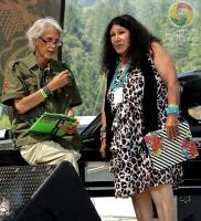 Emcees Doug Green & Agnes Patak