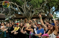 Marley's Mellow Mood Stage Crowd