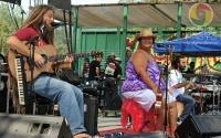 Mike Love, Paula Fuga, and Sam Ites