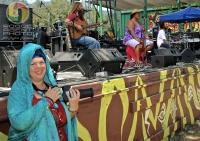Kat with Paula Fuga & Mike Love Trio